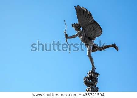 Eros Statue In Piccadilly Circus Stok fotoğraf © vichie81