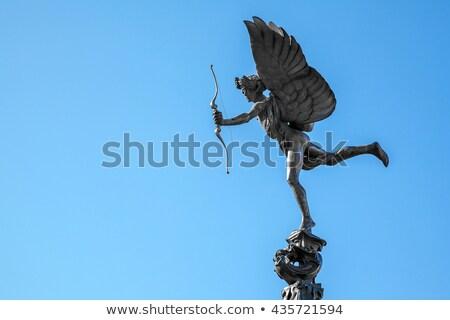 Eros Statue in Piccadilly Circus Stock photo © chrisdorney