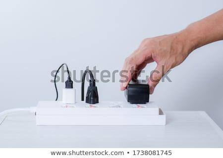 Electrical Adapter Stock photo © zhekos