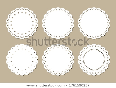 Doily Stock photo © Suljo