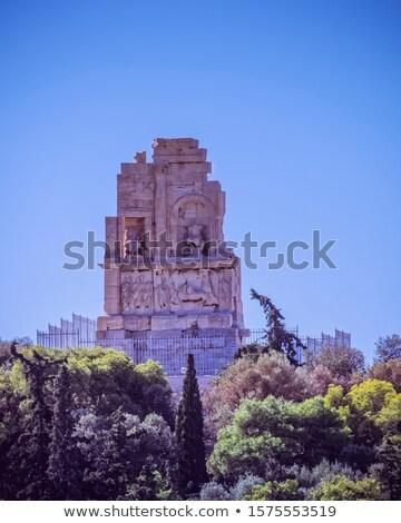 Atenas · pedra · teatro · estrutura · sudoeste - foto stock © sirylok