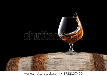 Brandy Cognac Glass Stock photo © make