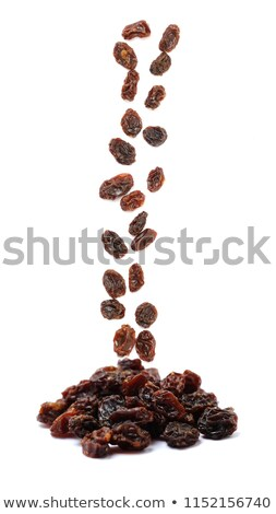 black raisins close up Stock photo © ozaiachin