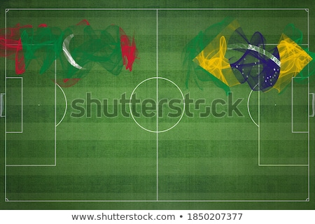 Brazil and Maldives Flags Stock photo © Istanbul2009