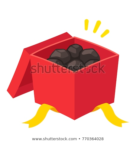 Lump Of Coal Symbol Stock photo © Lightsource