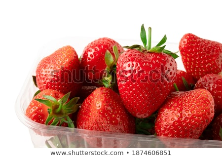 Berry in Front of a Basket stock photo © funix