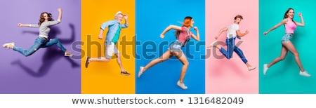 Vrouwelijke illustratie lichaam zwarte persoon professionele Stockfoto © bluering