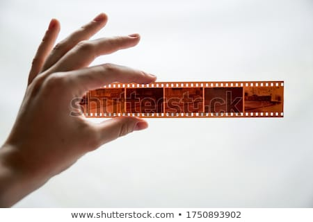 孤立した 白 映画 デザイン 芸術 黒 ストックフォト © kitch