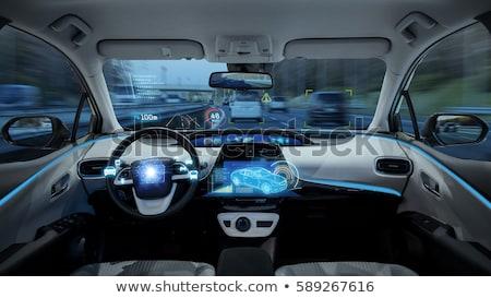 Self Driving Car Concept Stock photo © Lightsource