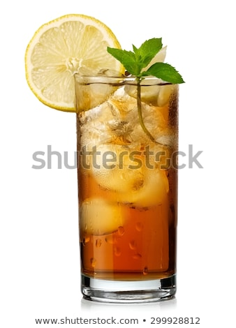 glass of iced tea stock photo © digifoodstock