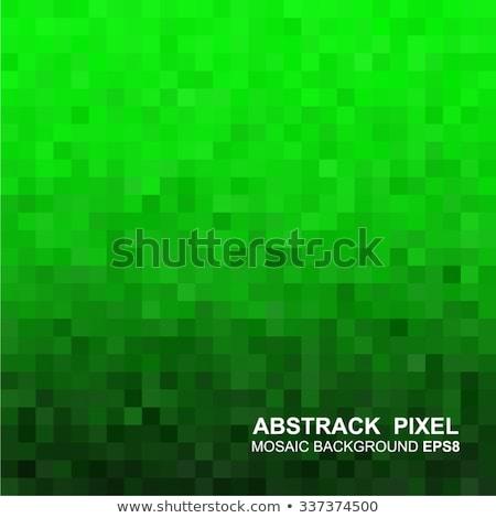черный квадратный мозаика вектора дизайна иллюстрация Сток-фото © SArts