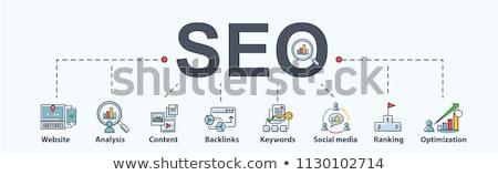 Marketing woord woorden promotie markten reclame Stockfoto © stuartmiles