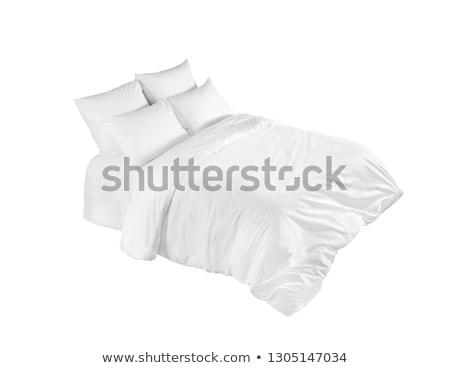 Bed isolated on white. Stock photo © Valeriy