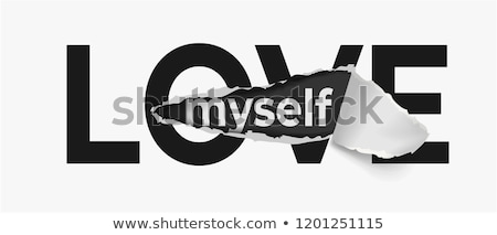 amor · mujeres · camiseta · vector · Cartoon · blanco - foto stock © pcanzo