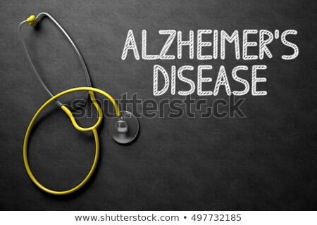 demência · 3D · gerado · quadro · cabeça · humanismo - foto stock © tashatuvango