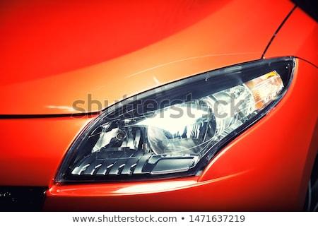 Modern car hood closeup Stock photo © IMaster