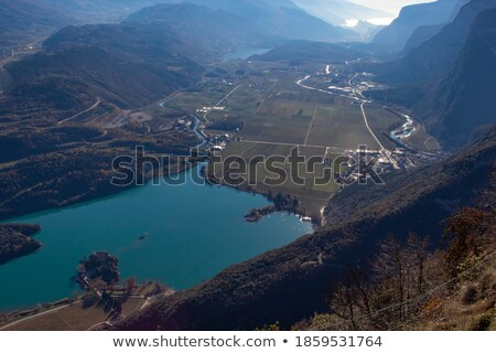 Lake Del Valle Panorama. Stock photo © yhelfman