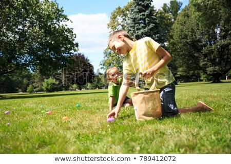 christianisme · enfant · extérieur · mains · enfants - photo stock © is2
