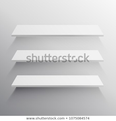 raflar · gri · vektör · kolay · ofis · duvar - stok fotoğraf © sarts