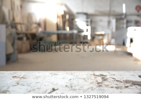 Floue usine atelier production industrie magasin Photo stock © dolgachov