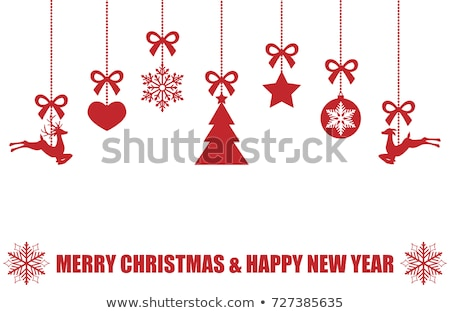 クリスマス · 緑の木 · ベクトル · デザイン - ストックフォト © cidepix