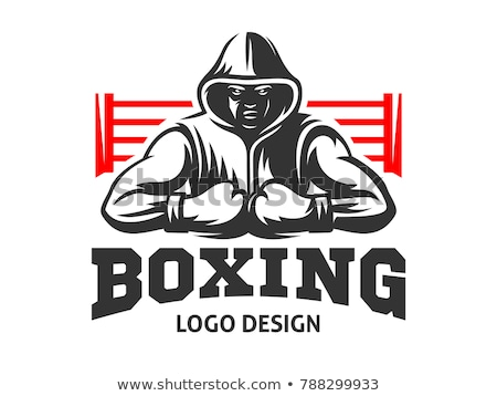 boxing · logo · sport · abstract · arte · palestra - foto d'archivio © colematt