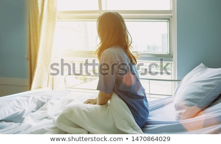 A woman in hospital suffering from cancer Stock photo © Lopolo