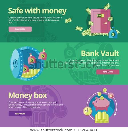 Affaires Finance coloré matériel design Photo stock © Decorwithme