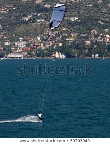 Parasurfing on Lake Garda Stock photo © backyardproductions