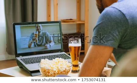 жизни вечеринка женщины питьевой взрослый напиток Сток-фото © piedmontphoto