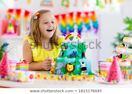 Party animal theme for kids Stock photo © bluering