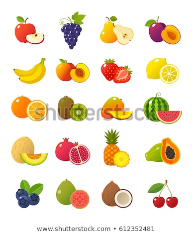 watermelon sweet fruit sliced exotic berry icon stock photo © robuart