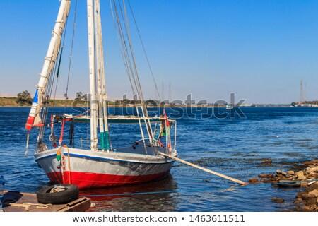 Felucca near the shore Stock photo © Givaga
