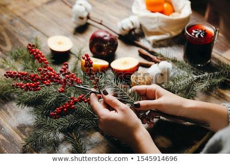 Advent wreath and accessories  Stock photo © grafvision
