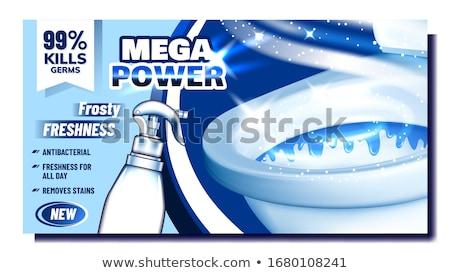 как власти чистого рекламный реклама баннер Сток-фото © pikepicture