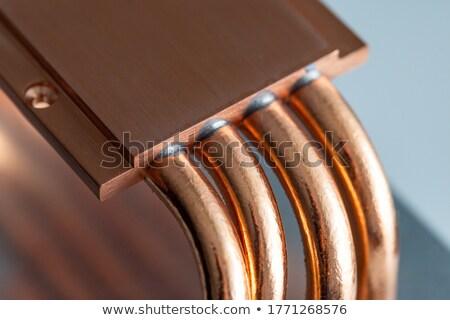 Processeur ordinateur métal évier cpu chaleur Photo stock © chrisroll