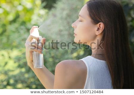 Woman in mist Stock photo © pressmaster