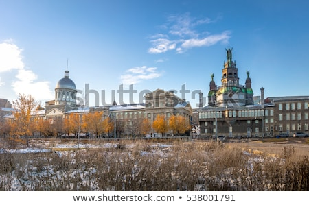 Notre Dame de Bonsecours Chapel in Montreal Stock photo © aladin66