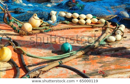 fishing professional tackle for fisherboats Stock photo © lunamarina