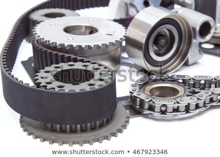 Stockfoto: Timing · gordel · auto · technologie · industrie · machine