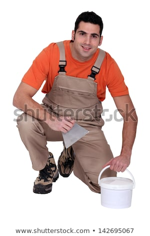 Portrait of a tile fitter Stock photo © photography33