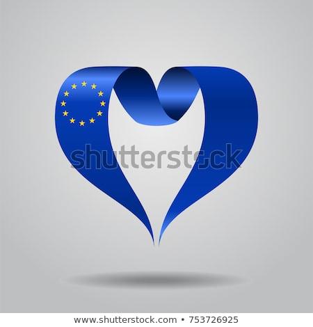 сердце · Франция · флаг · терроризм · изолированный · иллюстрация - Сток-фото © experimental