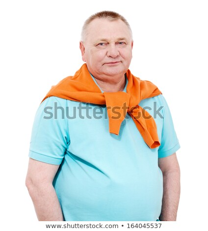 Confident businessman with jacket draped over shoulder Stock photo © photography33