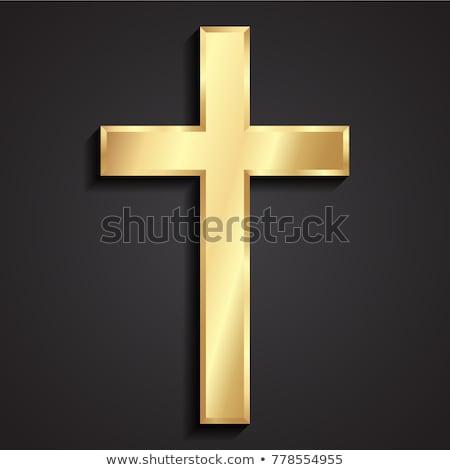 3D cruzes isolado branco atravessar Foto stock © kitch