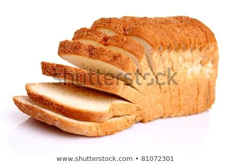 хлеб буханка изолированный белый еды Сток-фото © danny_smythe