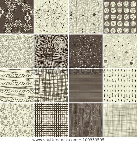 Végtelenített textúra 16 textúrák fehér absztrakt Stock fotó © robertosch