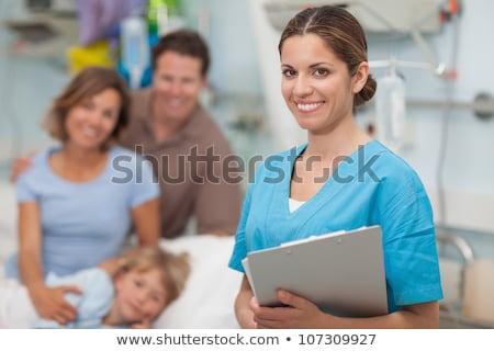 Hemşire hasta hastane kadın Stok fotoğraf © wavebreak_media