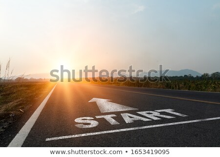 Challenging Road Ahead Stock photo © Lightsource