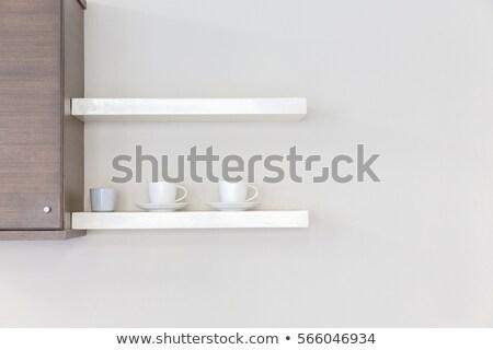 Coffee cup on a shelf Stock photo © Arezzoni