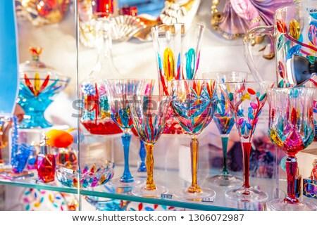 ベニスの ガラス ヴェネツィア イタリア 注釈 ストックフォト © billperry